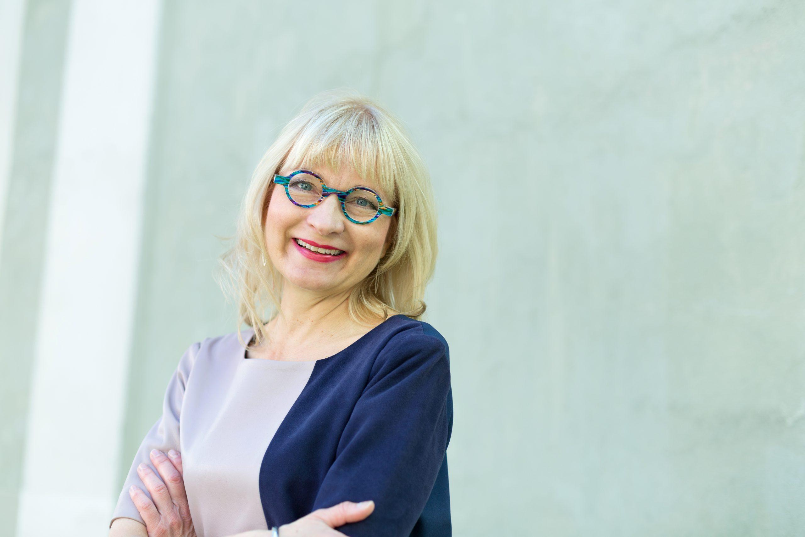 Portrait of Päivi Sillanaukee, Permanent Secretary in the Finnish Ministry of Social Affairs and Health