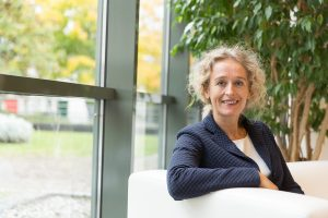 Portrait of Caroline Costongs, Managing Director of EuroHealthNet