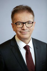 Portrait of Rudolf Anschober, Federal Minister of Social Affairs, Health, Care and Consumer Protection, Austria