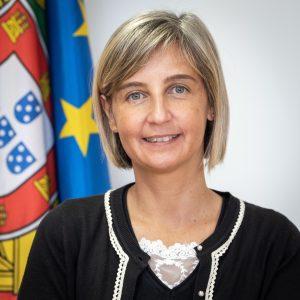 Portrait of Marta Temido, Minister of Health, Portuguese Republic