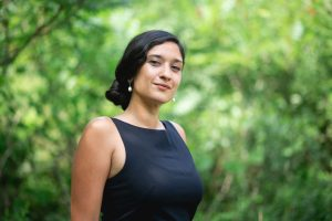 Portrait of Amanda Janoo, Knowledge & Policy Lead of the Wellbeing Economy Alliance