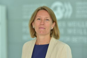 Portrait of Francesca Colombo, Head of the Health Division at the OECD