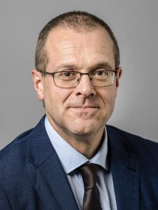 Portrait of Hans Kluge, WHO Regional Director for Europe