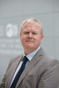 Portrait of Mark Pearson, Deputy Director of Employment, Labour and Social Affairs at the Organisation for Economic Co-operation and Development (OECD)