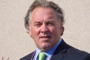 Portrait of Paul De Raeve, Secretary General of the European Federation of Nurses Associations