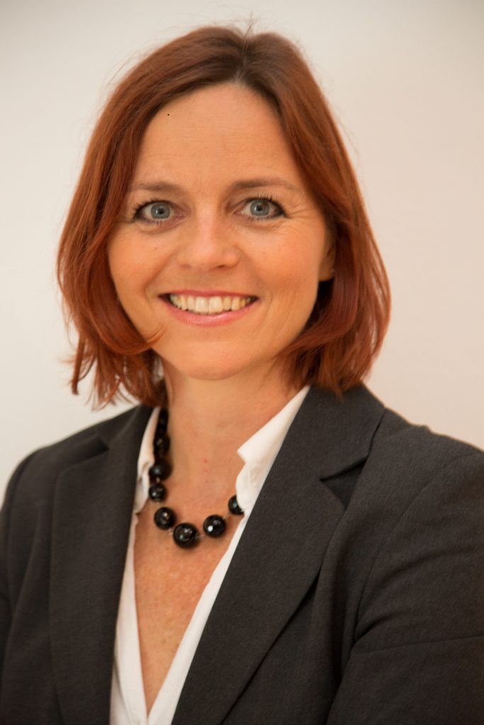 Portrait of Dorli Kahr-Gottlieb, EHFG Secretary General